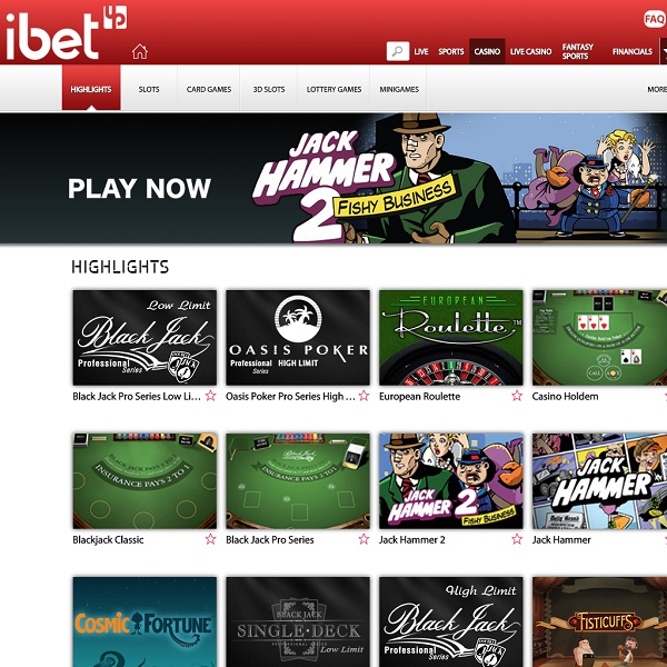 ibetup Casino Offers Top Quality Online Gaming