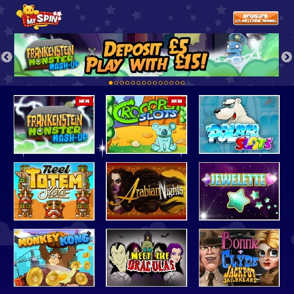 Mr Spin Casino Offers Exciting Mobile Gaming