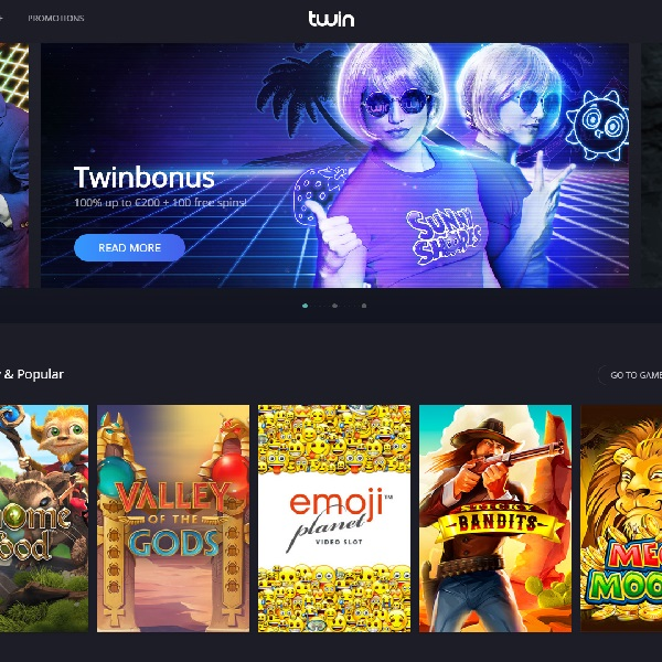 Twin Casino Goes Live With Top Quality Gaming