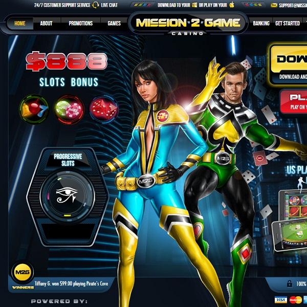 Mission 2 Game Casino Offers Action Packed Online Gambling