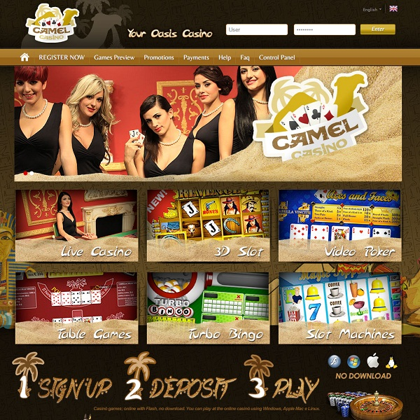 Camel Casino Creates an Oasis for Online Gamblers
