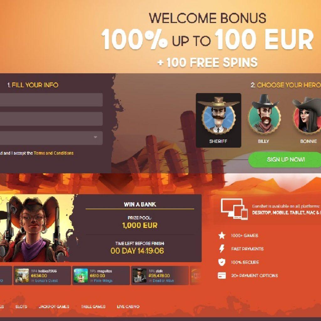 Сводная информация о GunsBet Casino