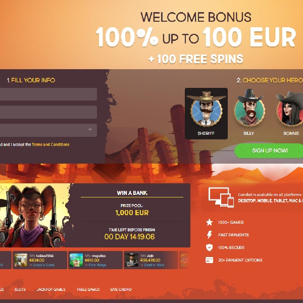 Guns Bet Casino Launches in the Wild West