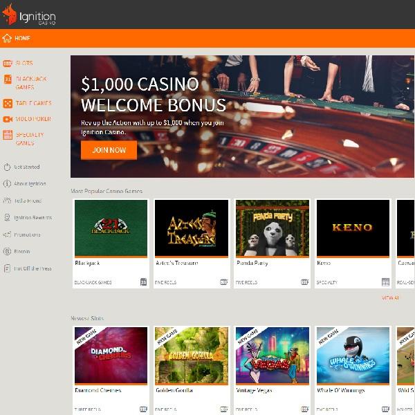 Ignition Casino Will Set Your Gambling Alight
