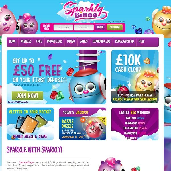 Sparkly Bingo Brings Cheer to Online Bingo