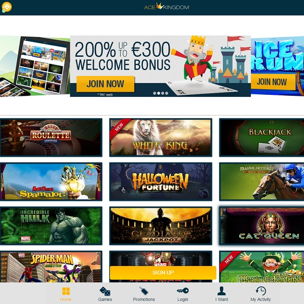 Ace Kingdom Casino Offers Fantastic Online Gaming