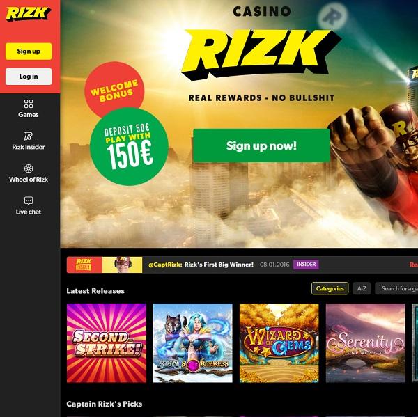 Second Strike! - Rizk Casino