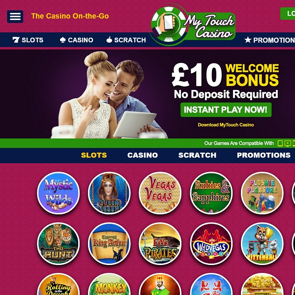 My Touch Casino Provides Quality Mobile Gambling