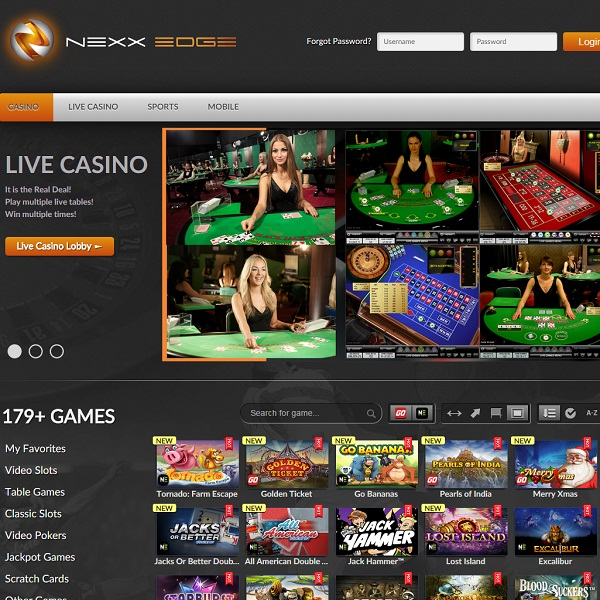 Next Edge Casino Takes Gambling to the Limit