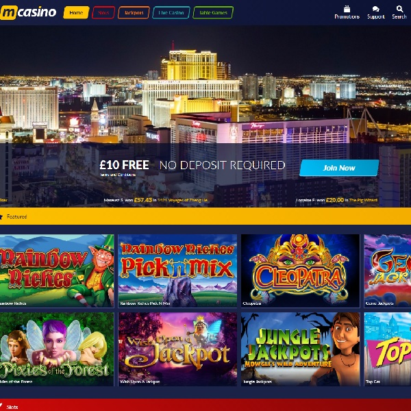 M Casino Offers Simple and Fun Online Gambling