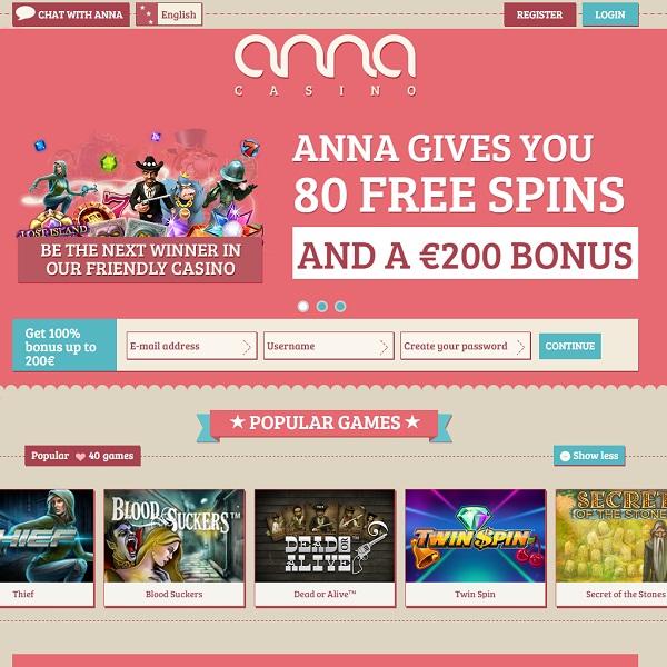 Anna Casino Brings Femininity to Online Gambling