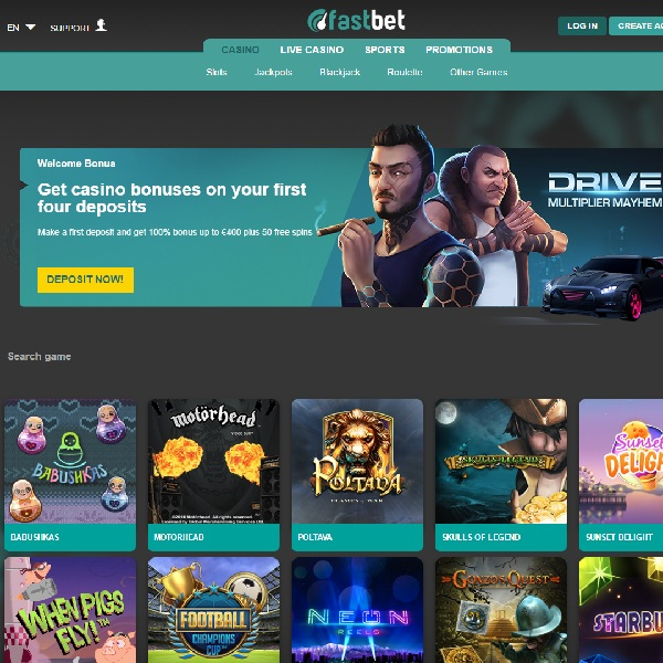 Fast Bet Casino Will Have You Playing Straightaway