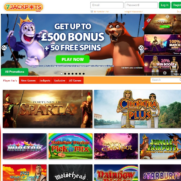 7 Jackpots Casino Offers The Best Progressive Titles