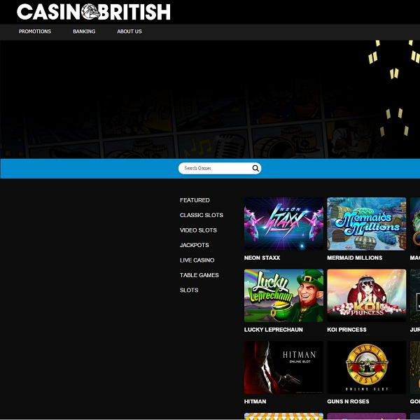 Casino British Brings You Great Gambling