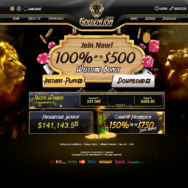 Golden Lion Casino Brings Majesty to Online Gaming
