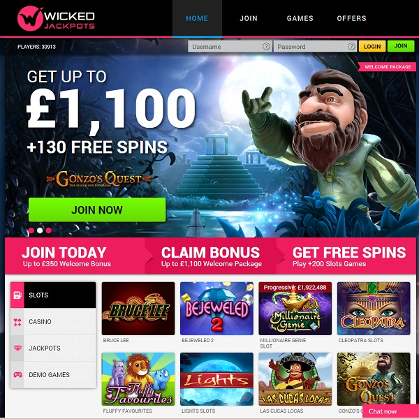 Wicked Jackpots Casino Offers Fantastic Online Gaming