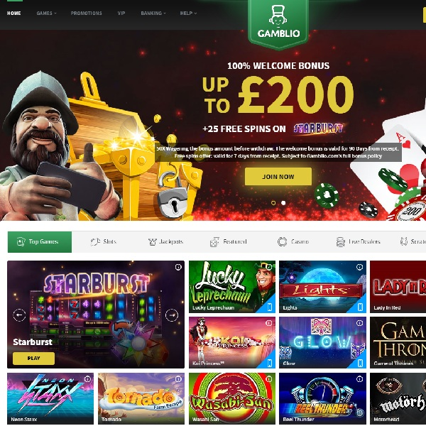Gamblio Casino Offers Masses of Quality Games