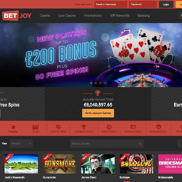 BetJoy Casino Review – Have Fun Gambling
