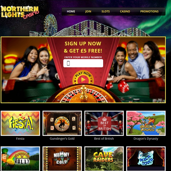 Northern Lights Casino Offers HD Slots on the Go