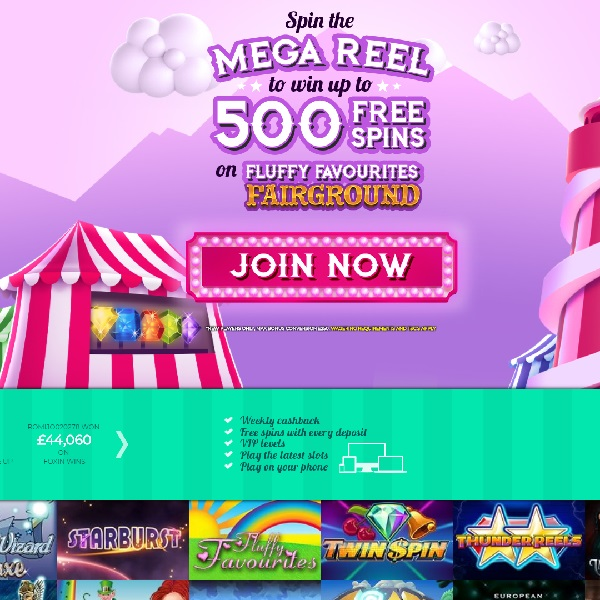Fairground Slots Casino Gives You The Chance to Win Huge Prizes