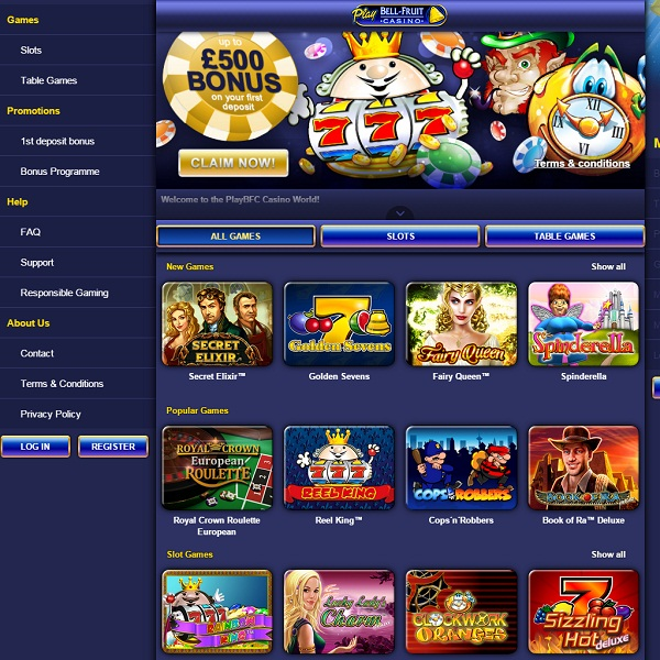 PlayBFC Casino Offers Fun Packed Online Gambling