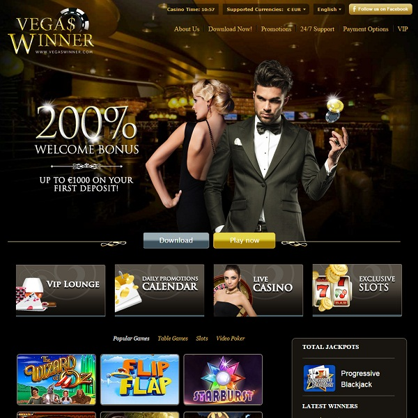 Vegas Winner Casino Helps Players Hit the Jackpot