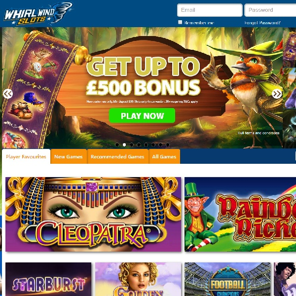 Whirlwind Slots Casino Will Leave You Spinning for Joy