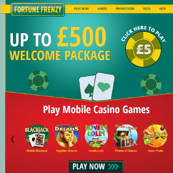 Fortune Frenzy Casino Could Make You Seriously Rich