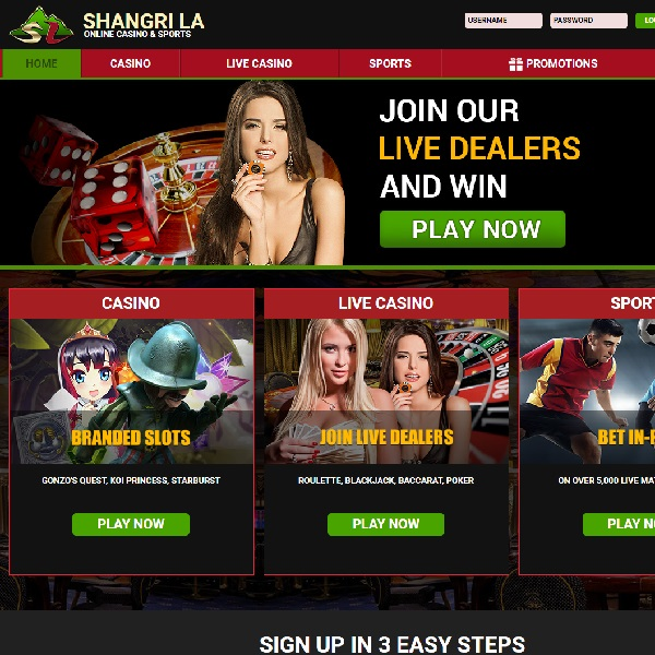 Enjoy Hundreds of Games at the New Shangri La Casino