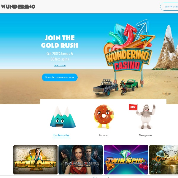 Wunderino Casino Will Leave You Gazing in Wonder