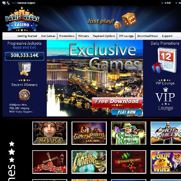 Paris Vegas Casino Launches With Focus On Europe