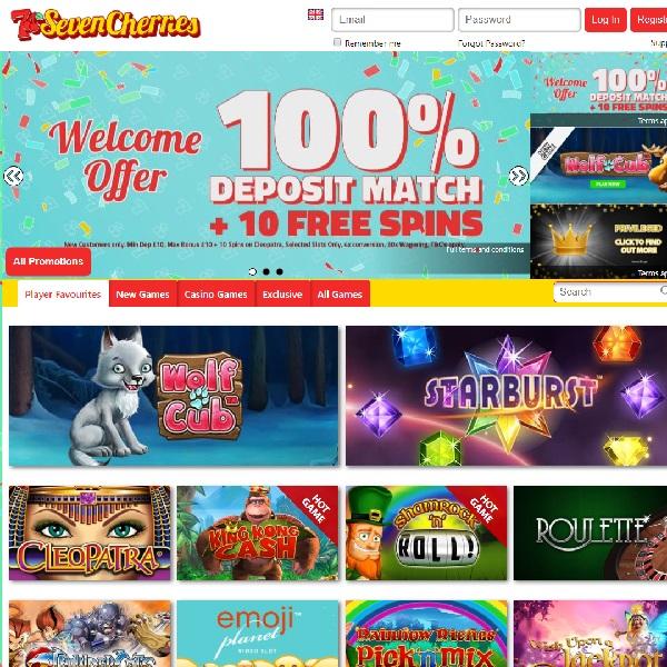 Seven Cherries Casino Offers Traditional Fun