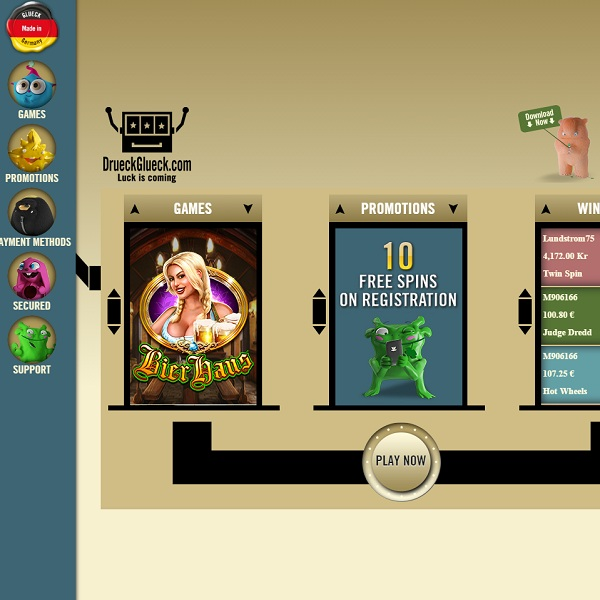 DrueckGlueck Casino Brings an Efficient Way to Play