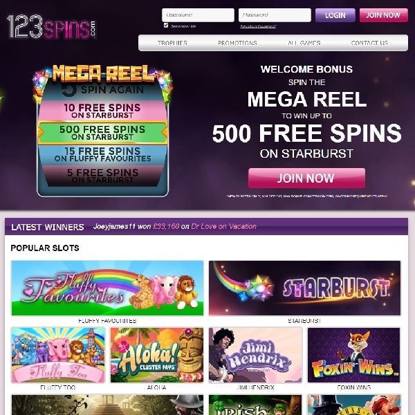 123 Spins Casino Offers a Straightforward Experience