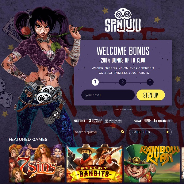 SpinJuju Casino Takes You on an Exotic Adventure
