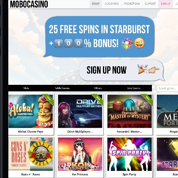 Mobo Casino Takes Mobile Gambling to a New Level