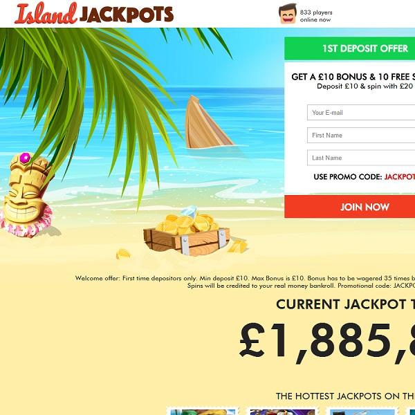 Island Jackpots Casino Takes You on a Tropical Holiday