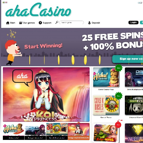 aha Casino Brings Players Revelations in Online Gambling