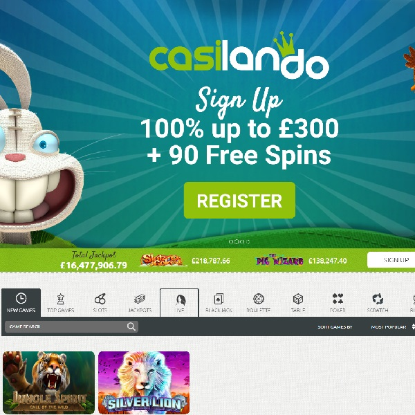 Casilando Casino Takes You to a World of Gaming