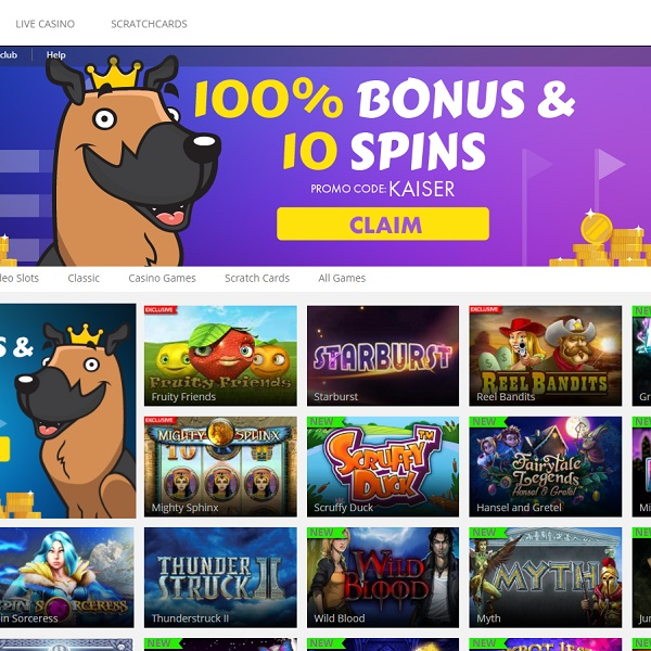 Kaiser Slots Casino Rules The World of Slots