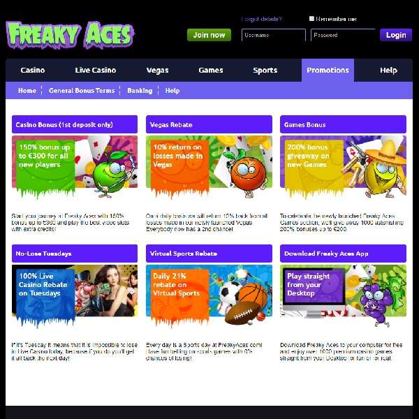 Freaky Aces Casino Brings Some Fun Craziness to Gambling