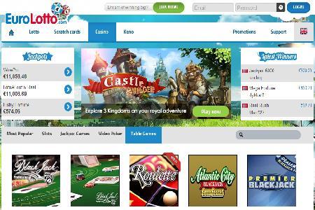 EuroLotto Casino Launches in Style