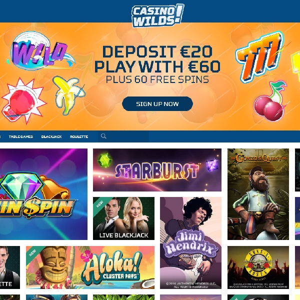 Casino Wilds Offers Special Bonuses and More