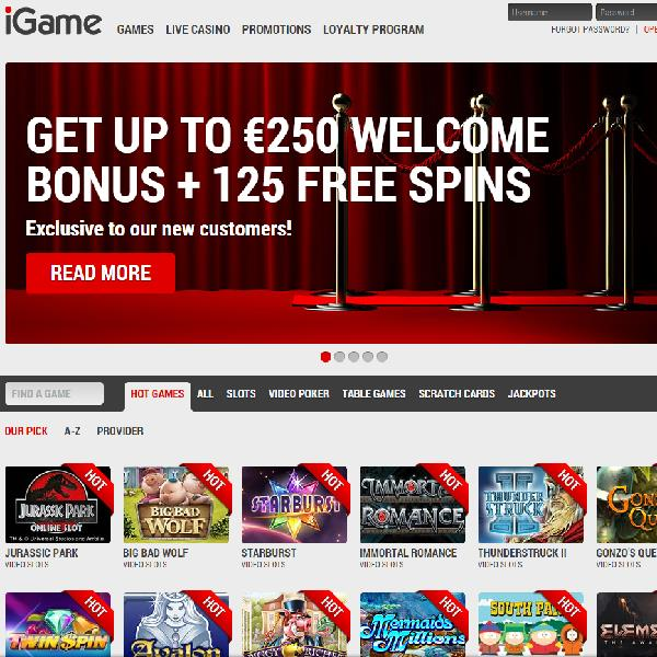 iGame Casino Launches With Slots Galore