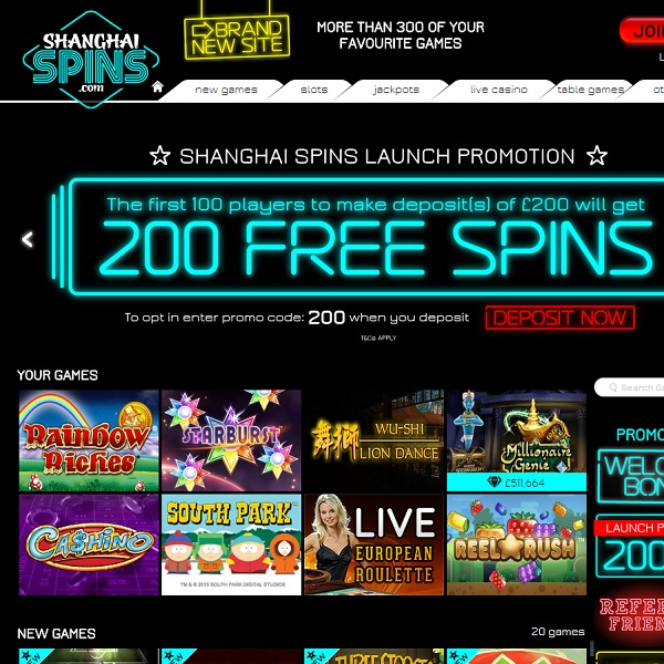 Shanghai Spins Casino Takes You to the Orient for Quality Gambling