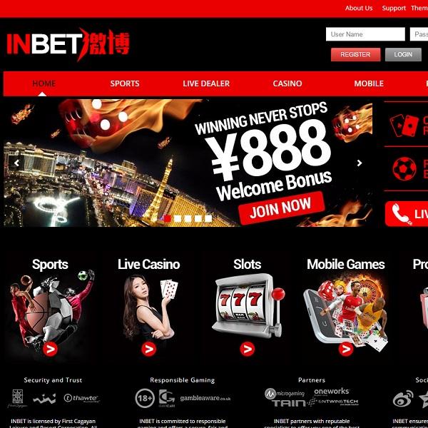 InBet88 Casino Brings Online Gambling to Asia