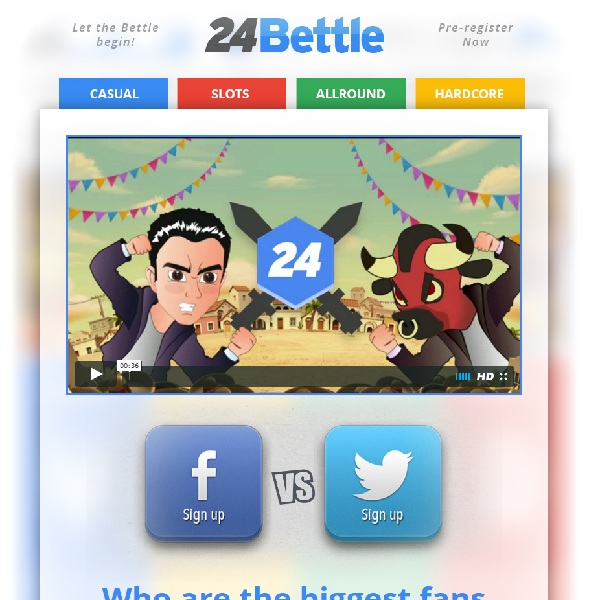 24Bettle Casino Launches with Casino Competition