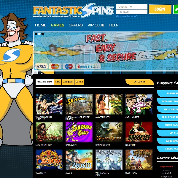 Fantastic Spins Casino Offers Top Slots for Enthusiasts