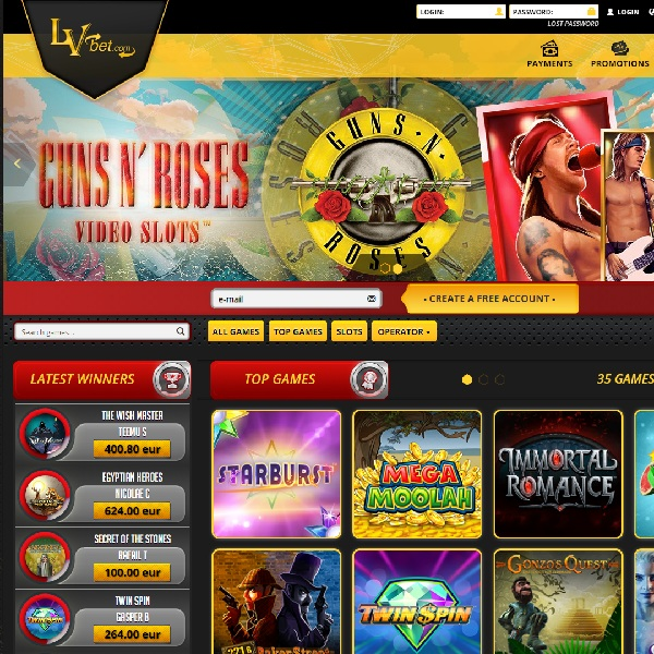 LvBet Casino Brings a Collection of Top Quality Slot