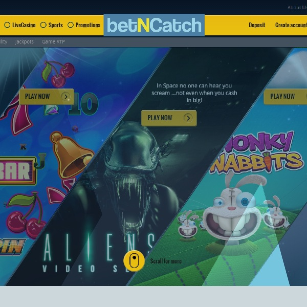 BetNCatch Casino Brings Top Games to Sports Fans